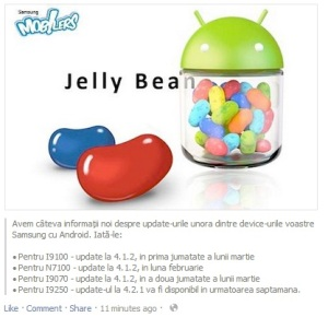 update jelly bean