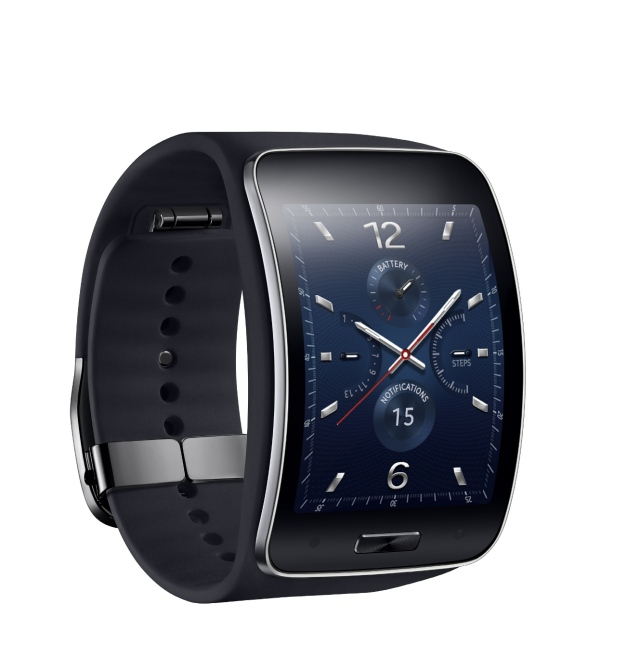 Samsung Gear S_Blue Black_3