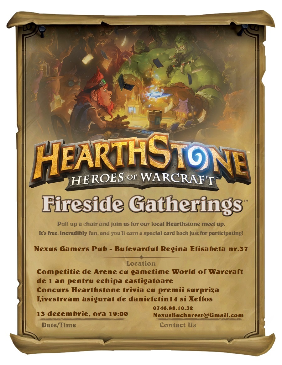 Nexus GvG Fireside Launch Party